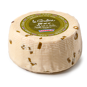 LE GUSTOSE CHEESE WITH GREEN OLIVES 2 kg