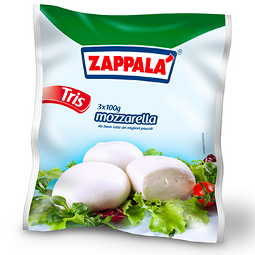 MOZZARELLA BALL TRIS 3 x 100 g